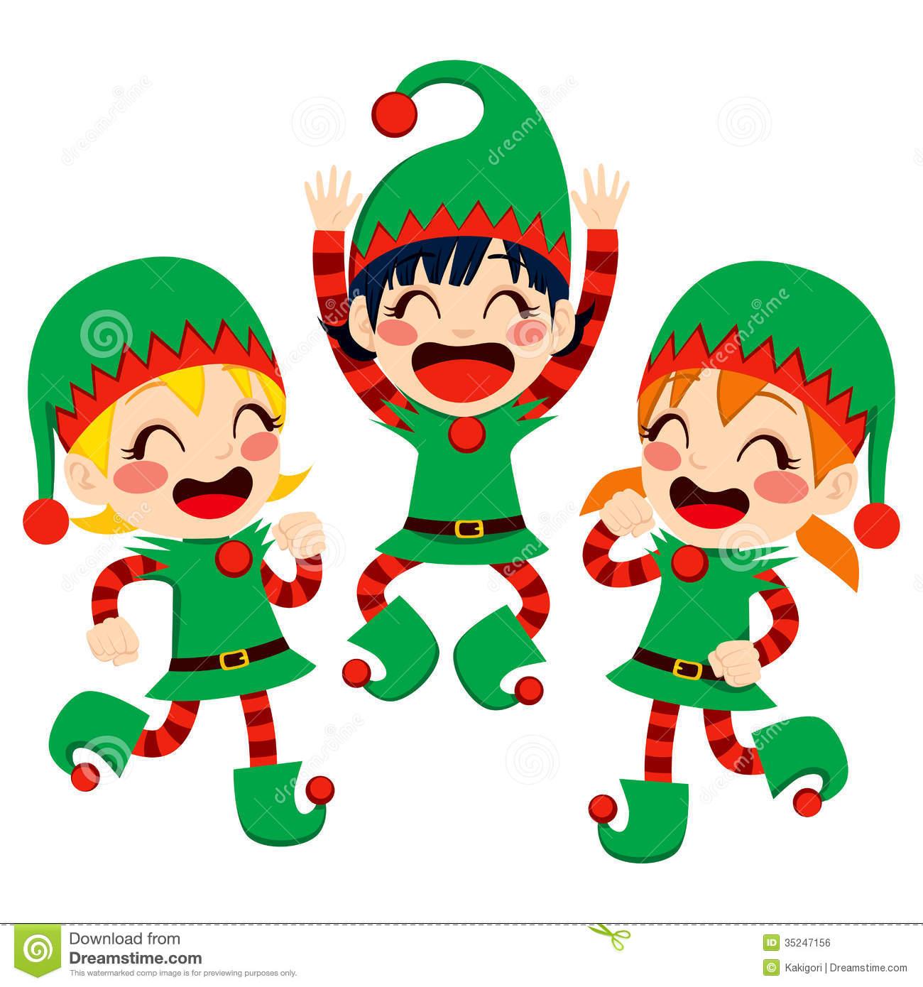 Santa clipart dancing #4