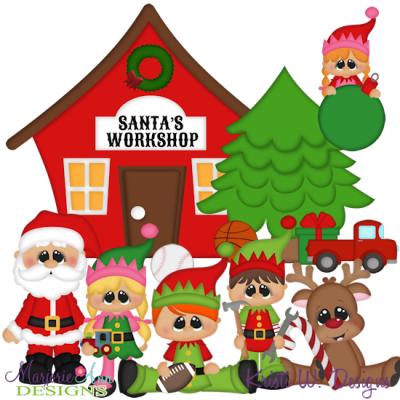 Elf clipart santa's workshop Christmas clipart Clipart cartoon Cartoon