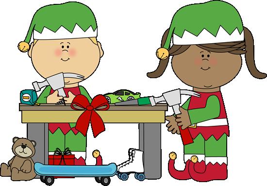 Elf clipart santa's workshop Santa's Santa clipart Workshop claus