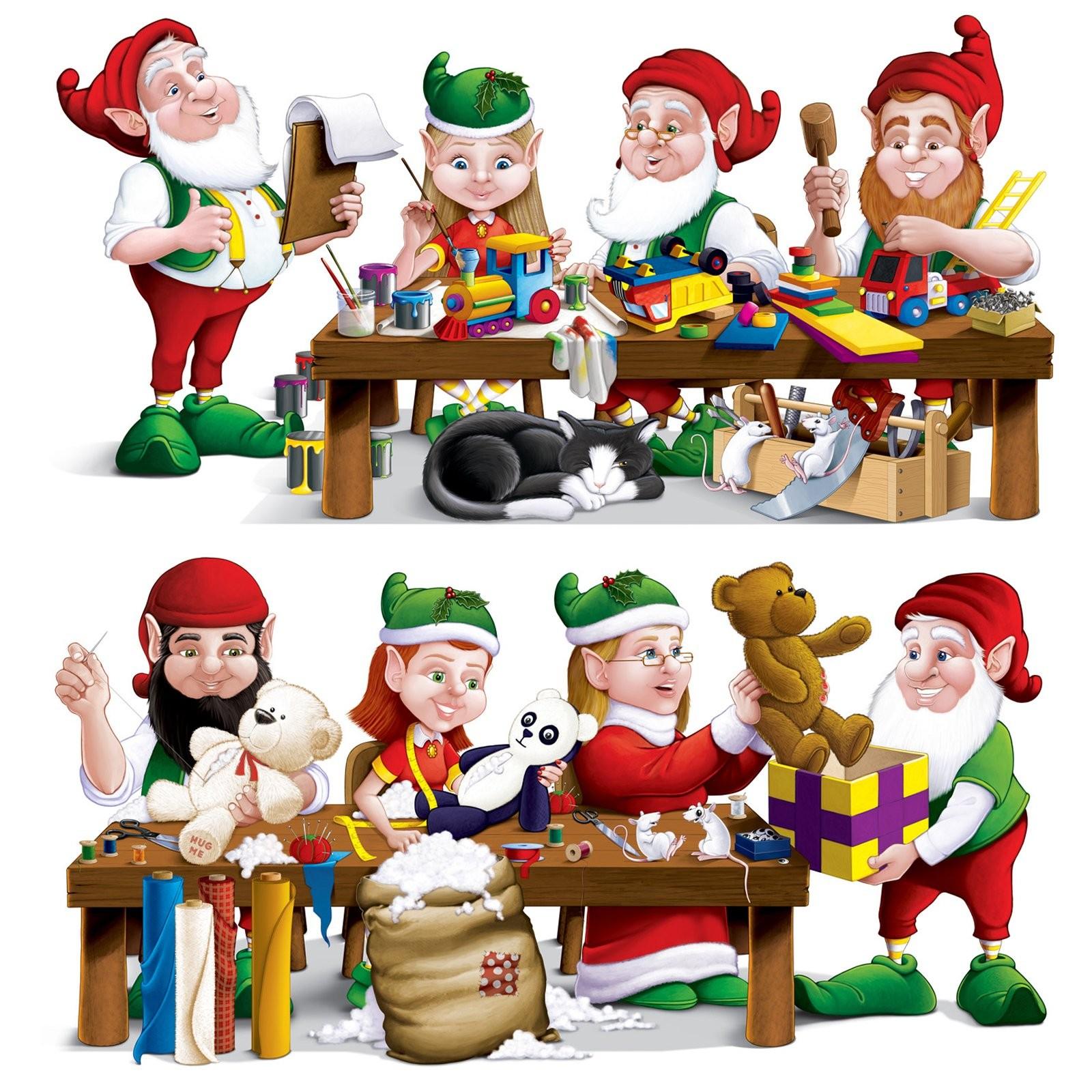 Elf clipart santa's workshop Santa's clipart images cartoon Workshop