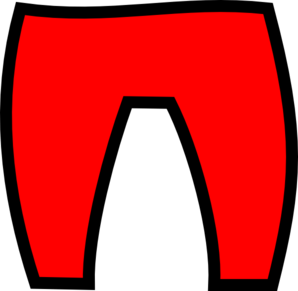 Santa clipart trousers #1