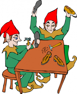 Elf clipart shoemaker The Elves The Blog! Click