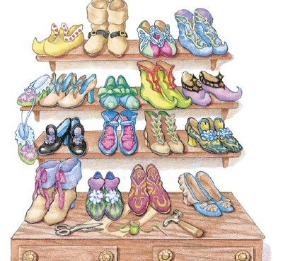 Elf clipart shoemaker Part shoemaker's time a Elves