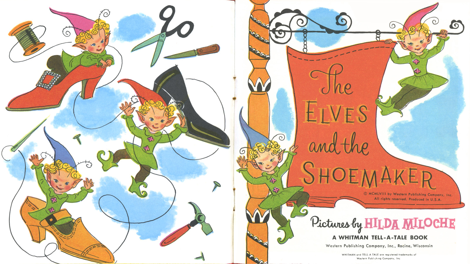 Elf clipart shoemaker The Shoemaker The  and