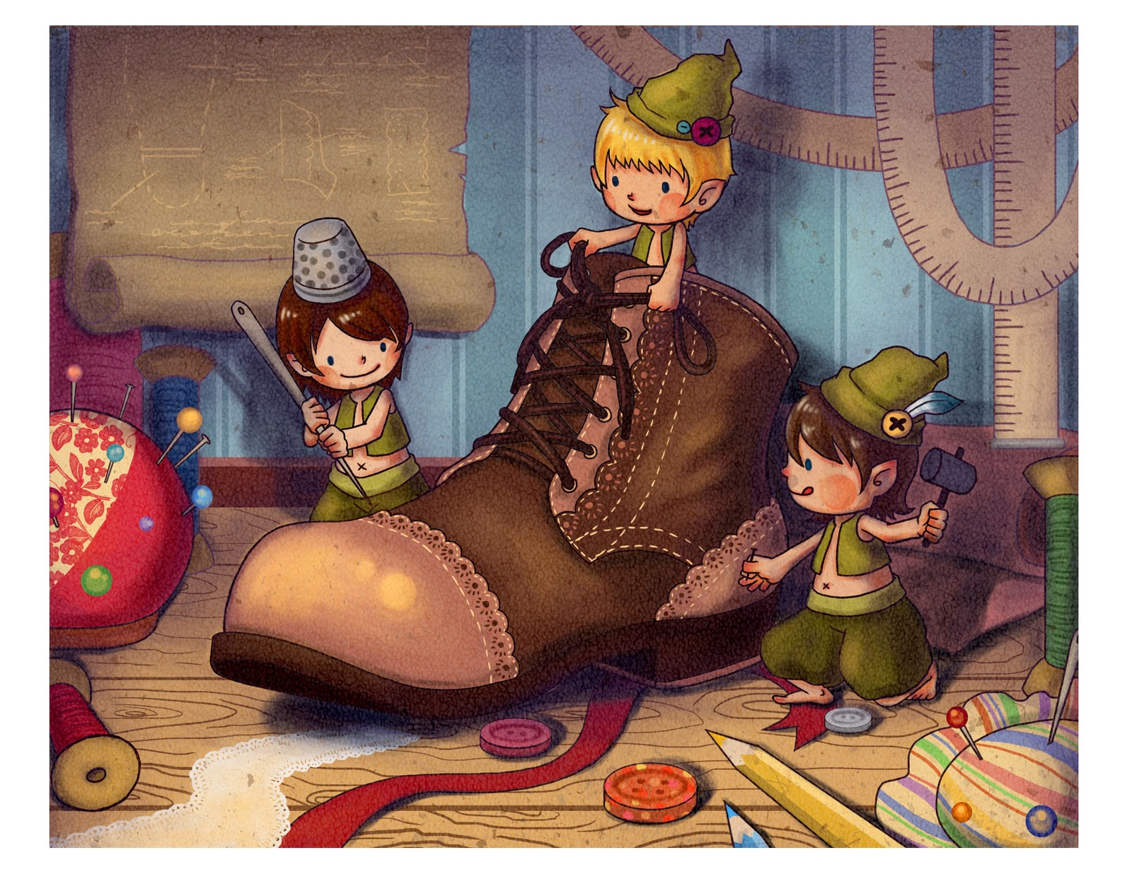 Elf clipart shoemaker His Shoemaker The Tucker