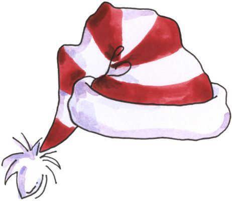 Elf clipart sleepy Gorro  cap Elves Santa's