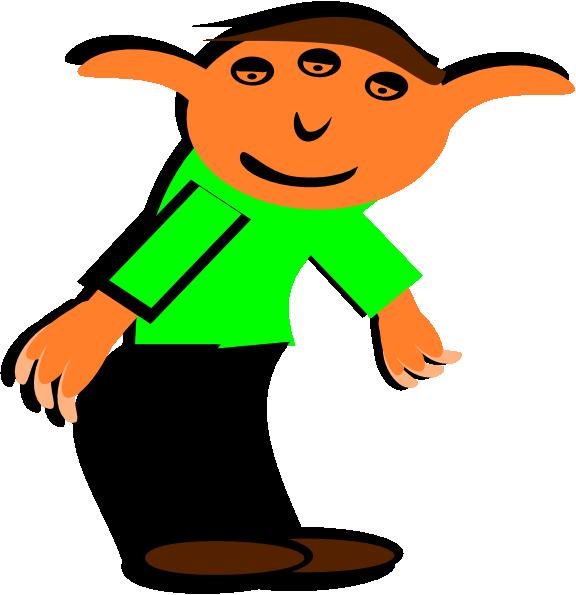 Elf clipart small Com art Art · Cartoon