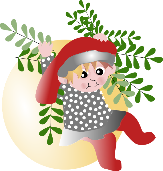 Elf clipart small Com art Art · Christmas