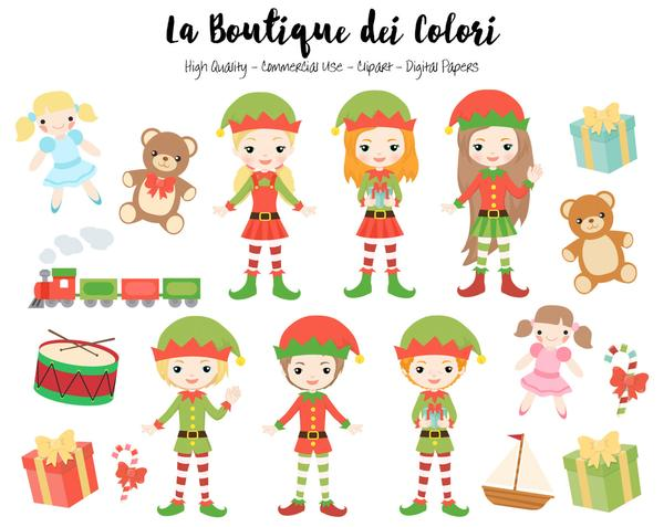 Elf clipart small Provided  cute · Christmas
