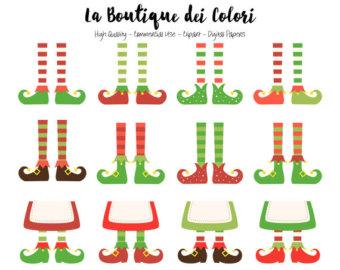 Elf clipart socks Socks Elf Elfs Clipart pole