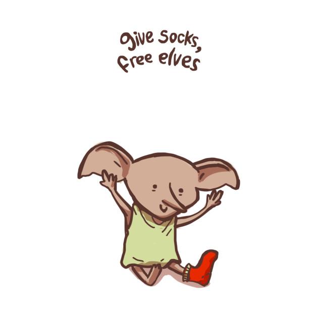 Elf clipart socks 1 socks Shirt Dobby Give