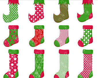 Elf clipart socks Clipart Stocking Stocking Christmas Download