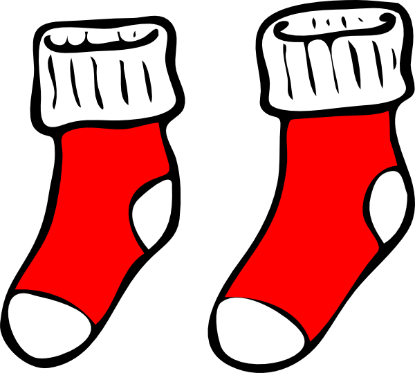 Elf clipart socks Art cards & red this