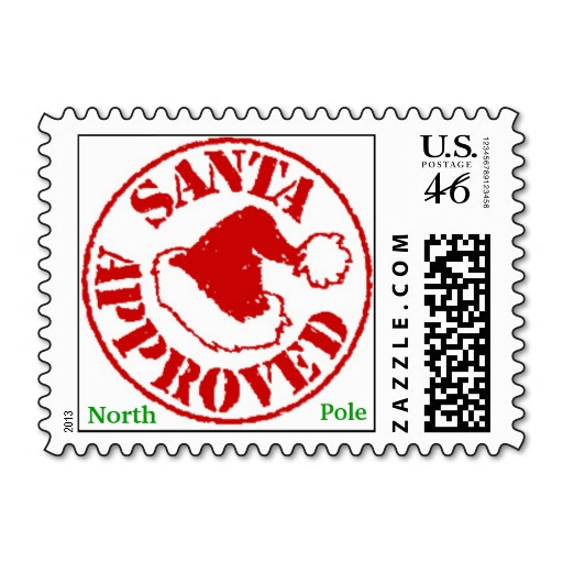 Elf clipart stamp Pole Noth North Stamps Christmas