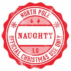 Elf clipart stamp Letters from Mini Christmas Naughty