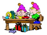 Elf clipart toy making Clipart Elves Graphics of Free