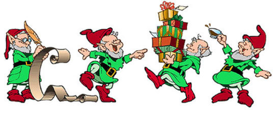 Elf clipart toy making Pole Santa's Santa's Helpers Helpers