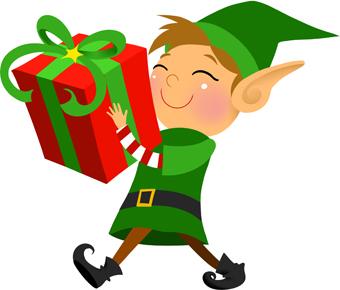 Elfen clipart xmas Christmas elf elf collection transparent