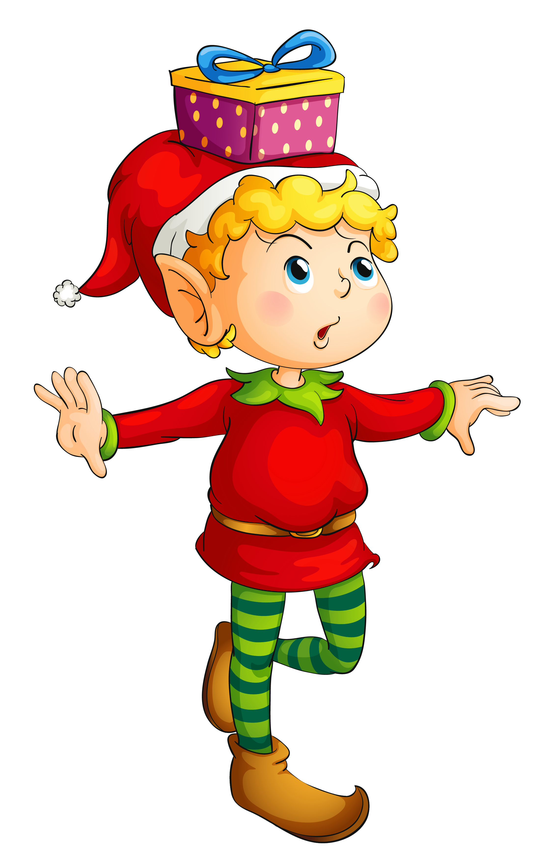 Elfen clipart xmas Christmas Art elf collection transparent