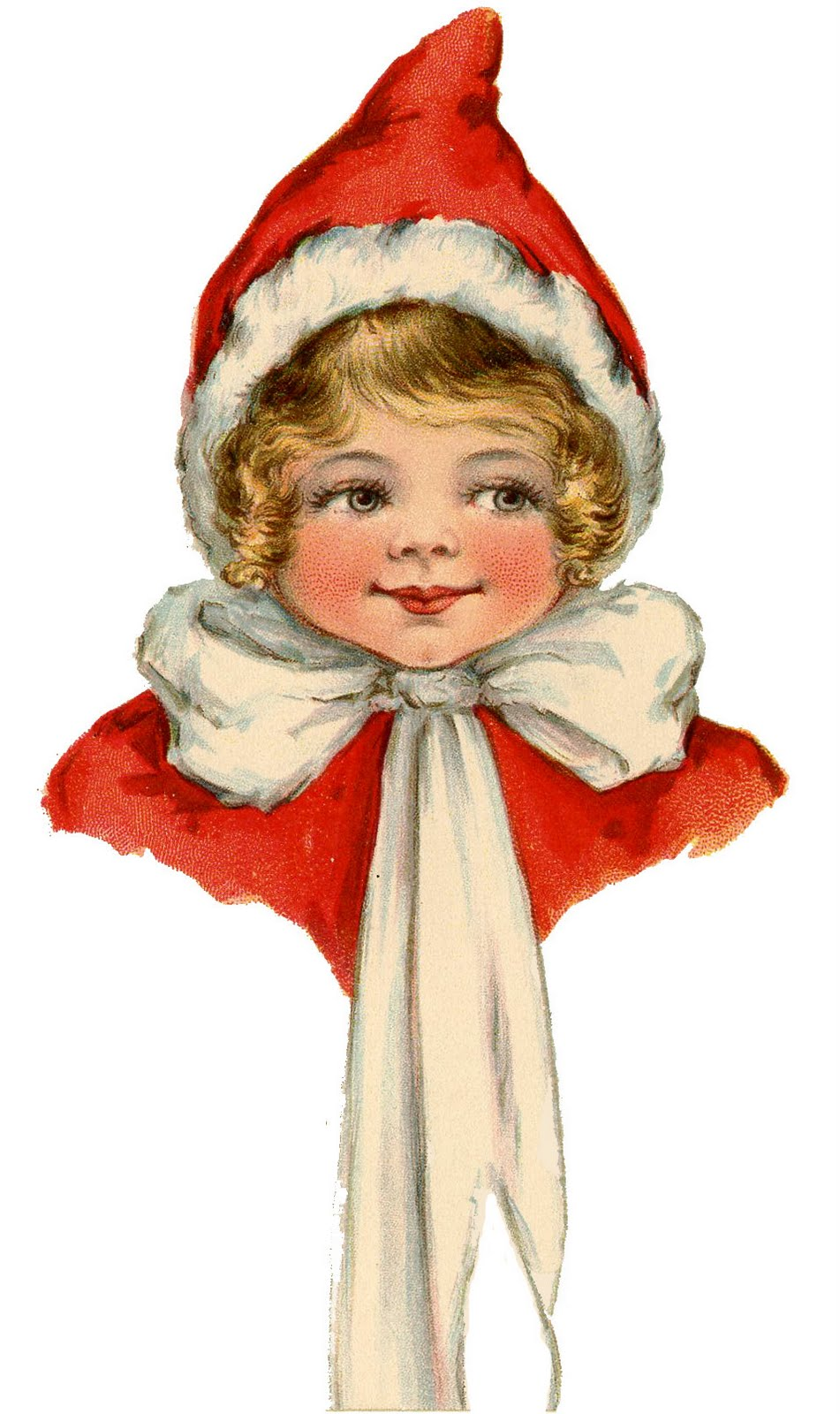 Elf clipart vintage Vintage Elf Adorable Vintage Art