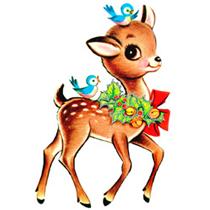 Holydays clipart deer Christmas Clipart AltogetherChristmas Christmas Vintage
