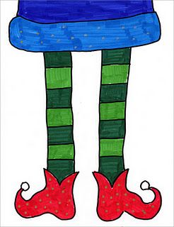 Elf clipart witch leg Many fun shoes different up