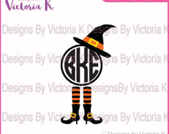 Elf clipart witch leg SVG Files Hat EPS Monogram