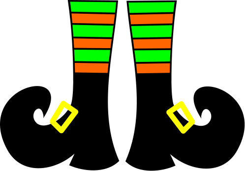 Elf clipart witch leg Is  PARTIES? Templates Shoes