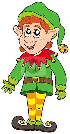 Elf clipart worried Elf Christmas Cute elf Christmas