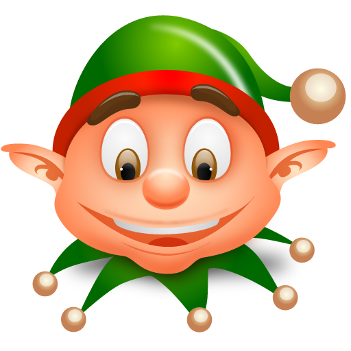 Elf clipart worried Blog Days 5 Shopping ·