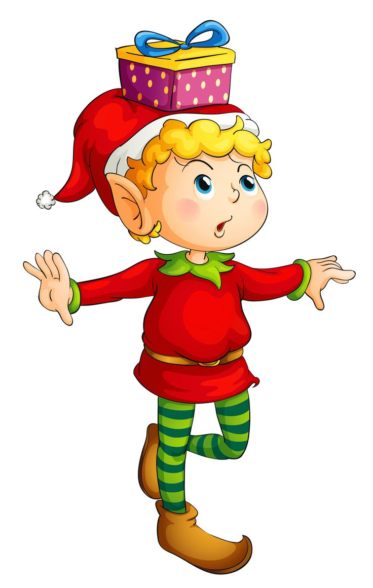 Elfen clipart animated PNG & Christmas Picture 290