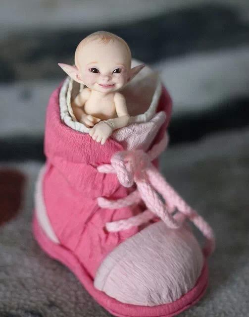 Elfen clipart baby elf More and andere Zauberwesen und
