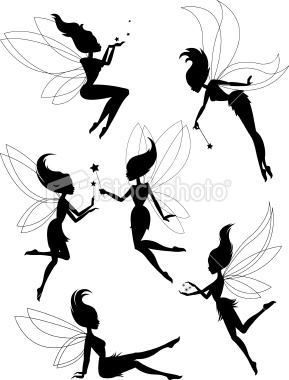 Elfen clipart black and white Images about Pinterest 7 black