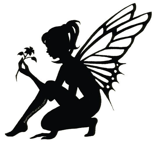 Elfen clipart black and white Ideas on Fairy Fairy 4