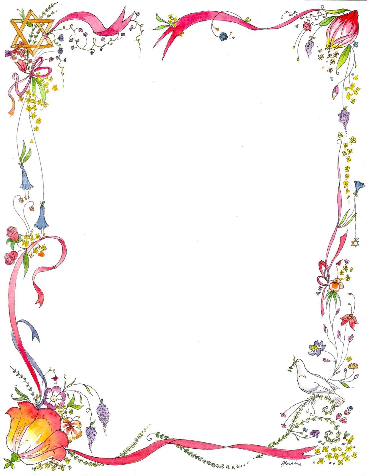 Elfen clipart border Bloem Pinterest Zoeken Flowers