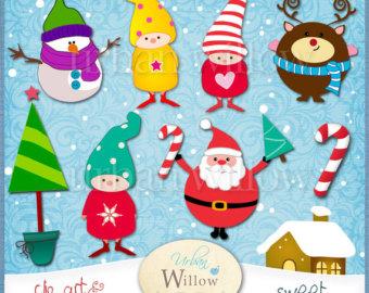 Elfen clipart candy cane ClipArt Grafiken clipart Snow Weihnachtsmann