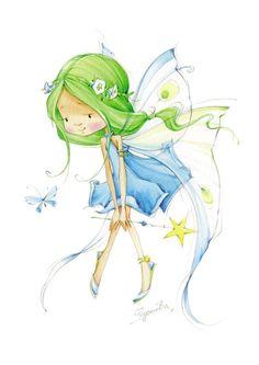 Elfen clipart cheeky Сказки Бабок в  искусстве