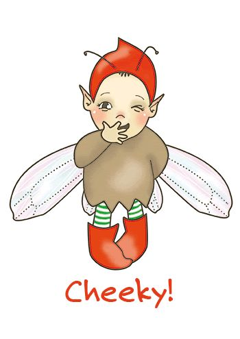 Elfen clipart cheeky About on best fairies images