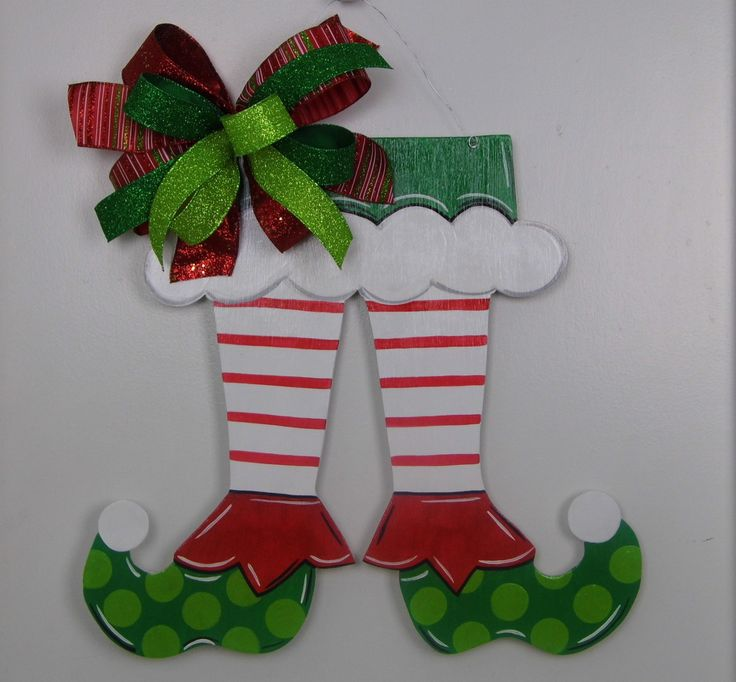 Elfen clipart christmas stocking Hand Christmas 25+ Top Sign
