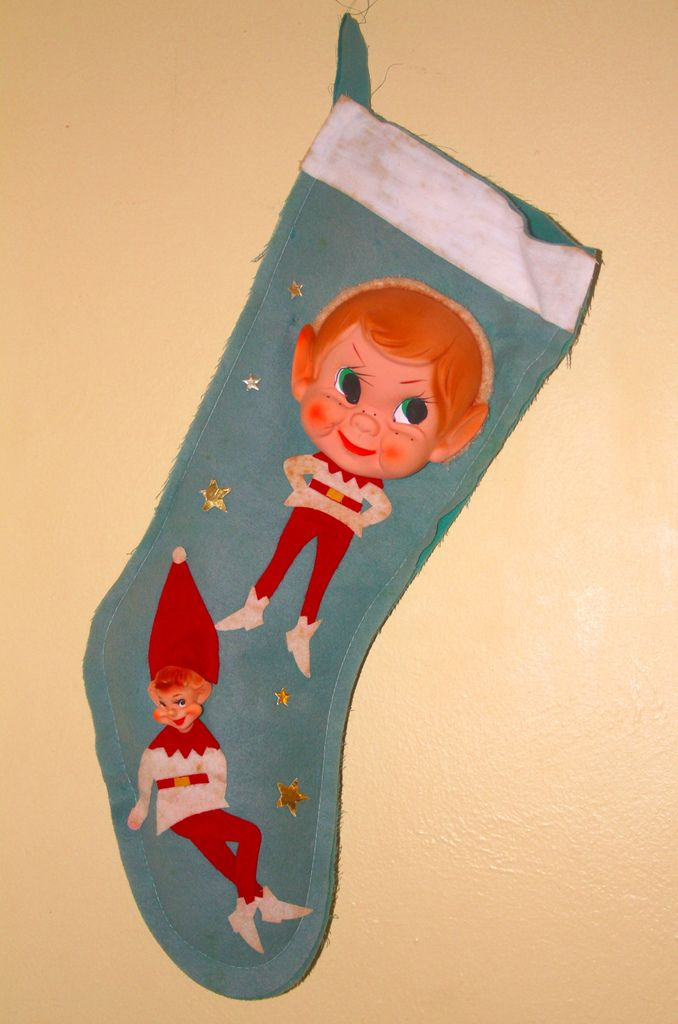 Elfen clipart christmas stocking Sweet best on images Pinterest