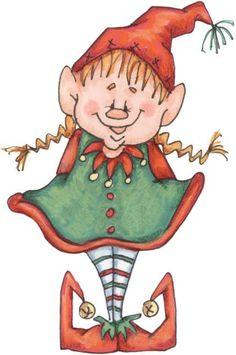 Elfen clipart country Duende de ClipartChristmas Ilustración Navidad