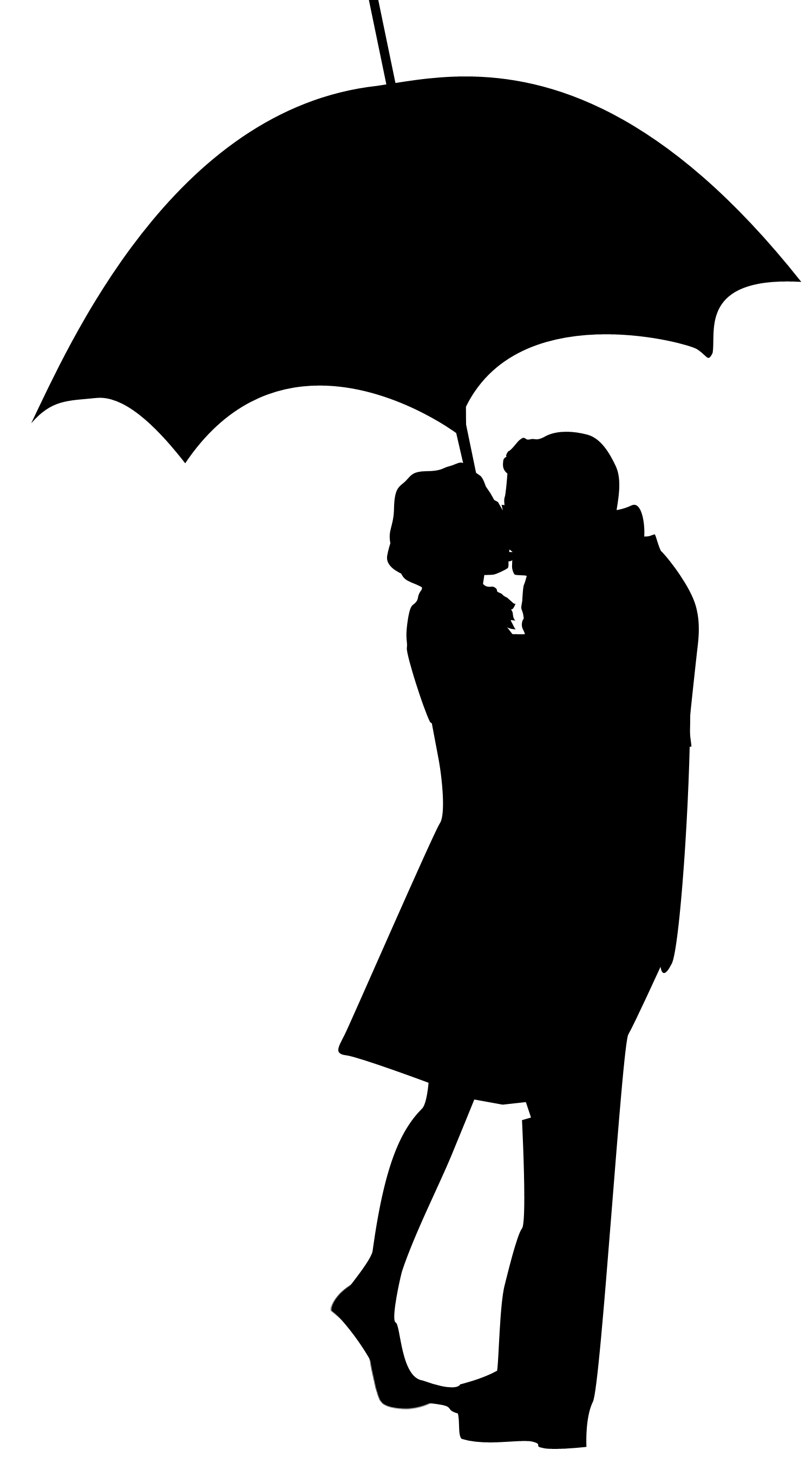 Shadow clipart umbrella #3