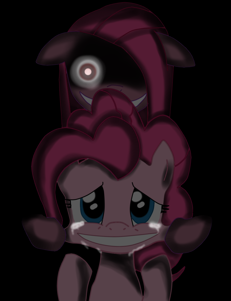 Elfen clipart creepy Pinterest pinkamena creepy Google Search
