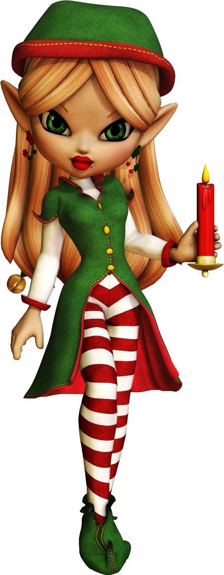 Elfen clipart creepy Thème ElfChristmas Poser Noël le