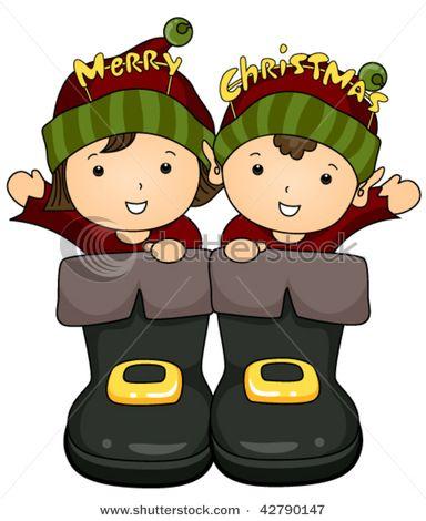Elfen clipart cute Santa Elves 18 Boots of