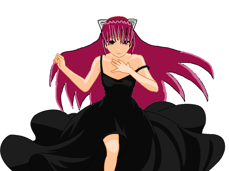 Elfen clipart dress Yuri12inuzuka yuri12inuzuka Lucy dress on