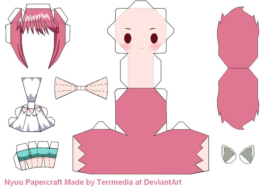 Elfen clipart easy @DeviantArt Nyuu by deviantart terrmedia