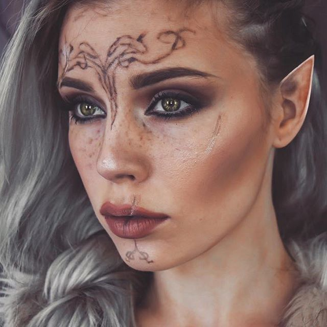 Elfen clipart elf face Pinterest Inquisitor tattoo Best Elf