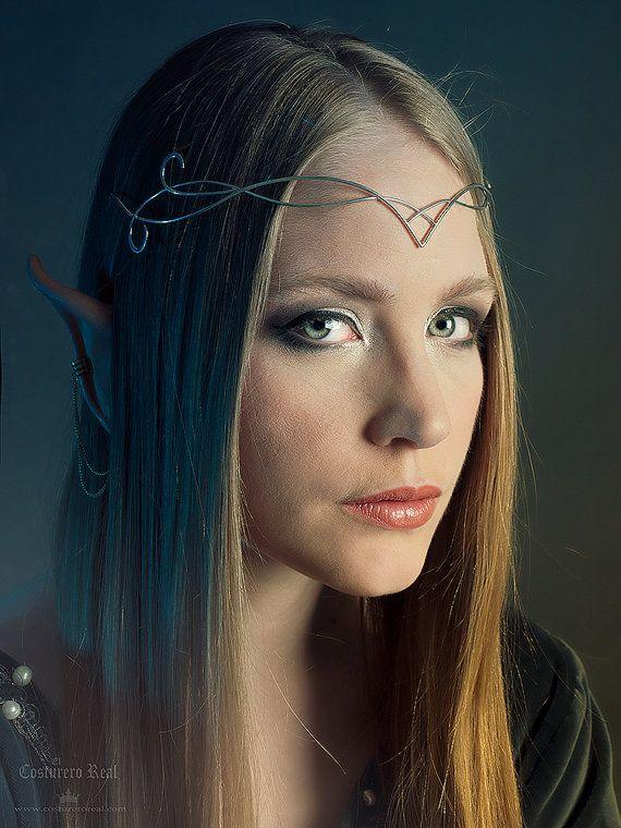 Elfen clipart elf head Sindar Archery Etsy crown elegant
