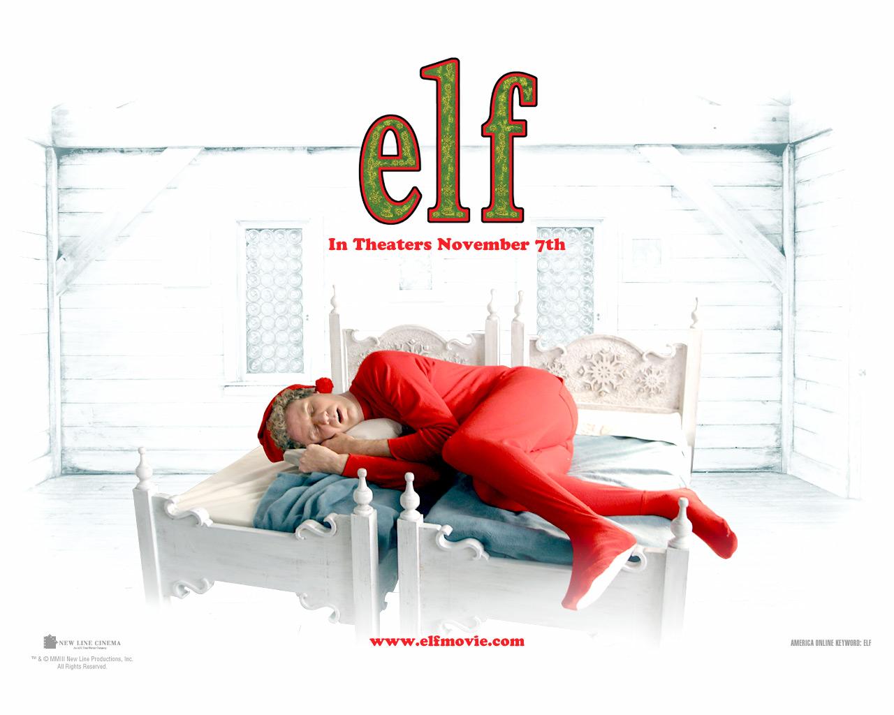 Elfen clipart elf movie Movie Wallpapers Elf Elf WallpaperSafari